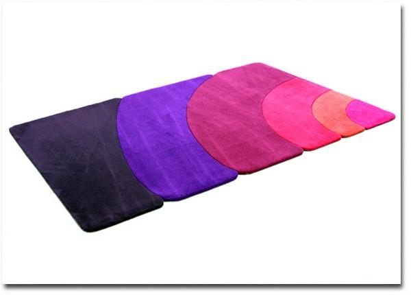 Современные пушистые коврики от Piodao Group