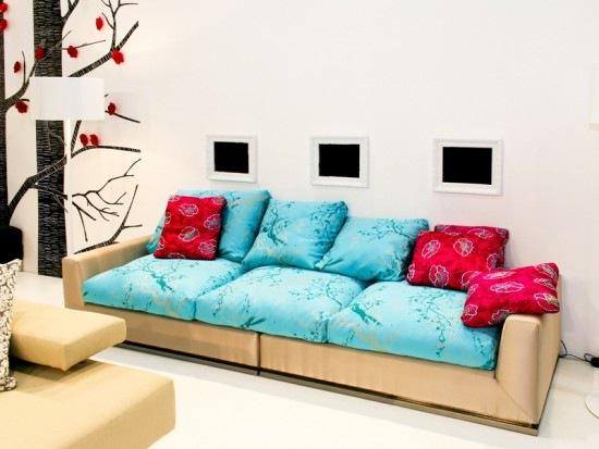 Мебель бирюзового цвета