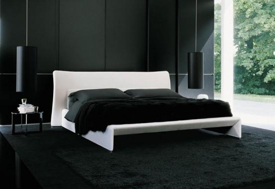 Дизайн в черно-белых тонах фото