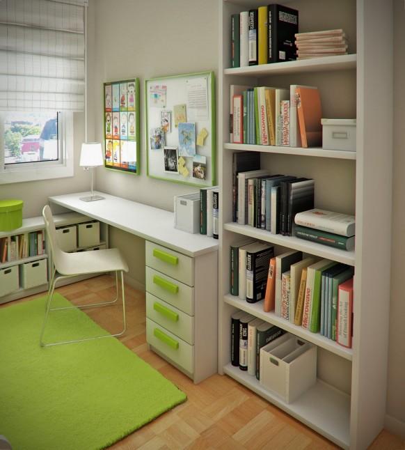 Интерьеры небольших детских комнат