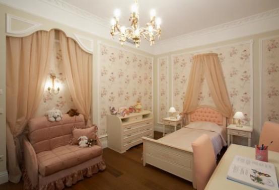 детская классическая мебель