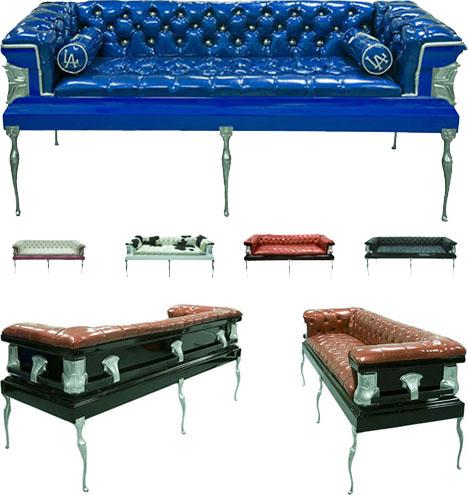 мебель в виде гроба, фото