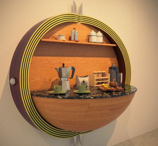 компактные кухни, фото