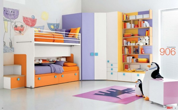 Дизайн интерьер детской комнаты, фото