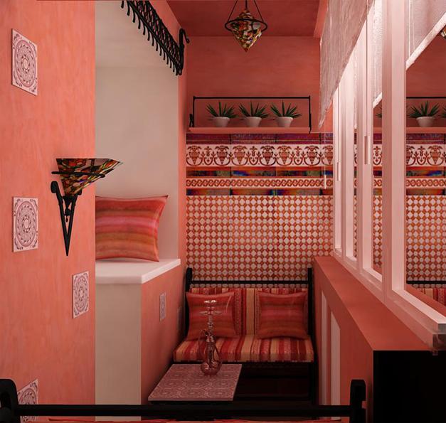 Дизайн интерьера лоджии, фото обзор - интернет-журнал inhome.