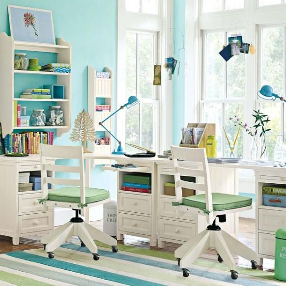 Дизайн рабочего стола школьника