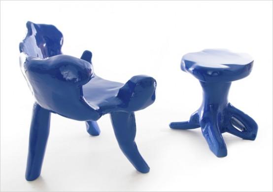 стулья уникальной формы, фото