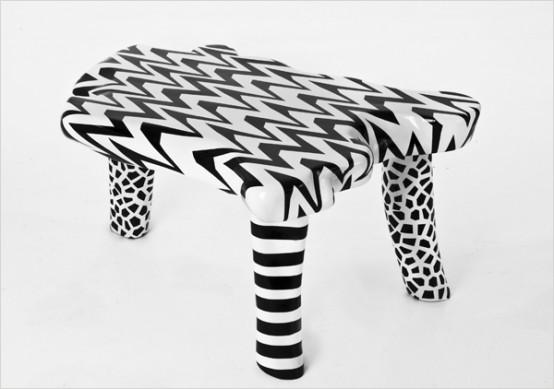 мебель необысной формы, фото