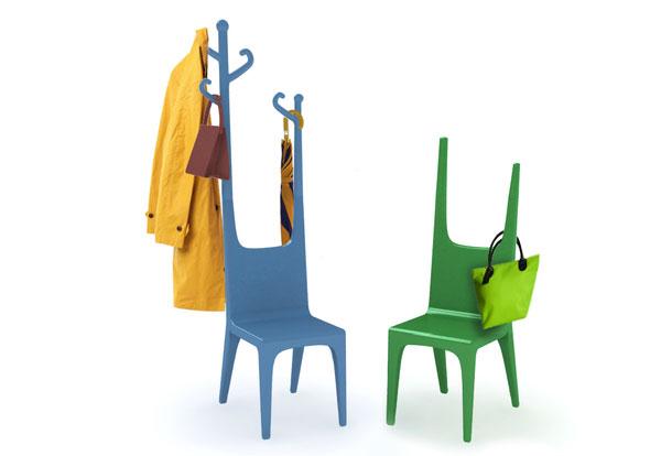 дизайнерская вешалка стул, фото