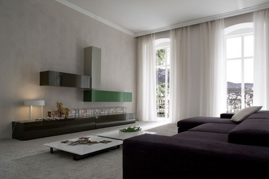 дизайн гостиной минимализм