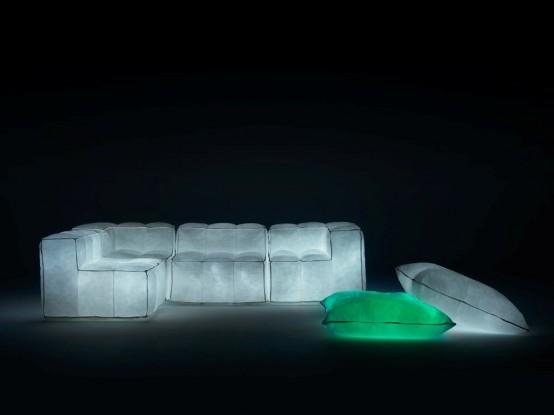 мебель с подсветкой, фото