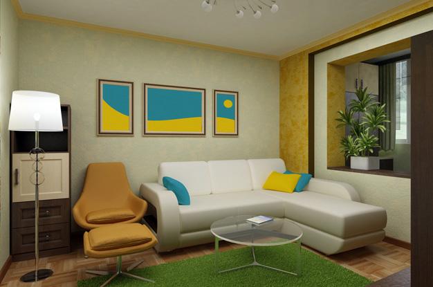 Дизайн лоджии в квартире: особенности отделки