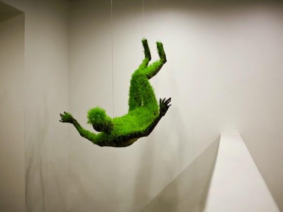 зеленые скульптуры фото