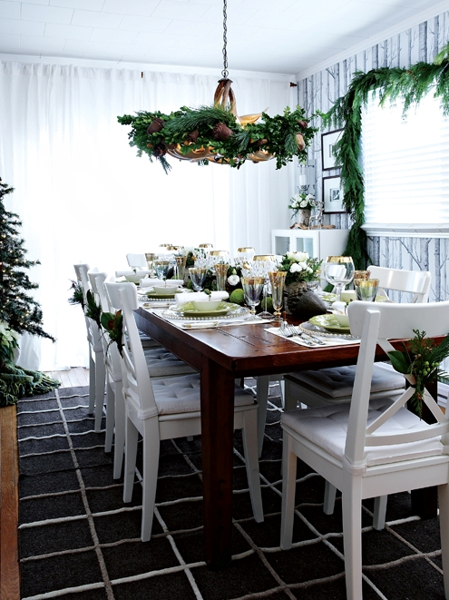 Новогоднее оформление дома