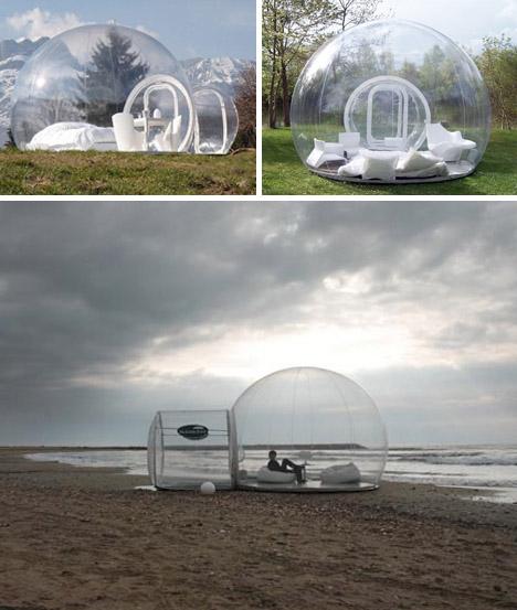 надувные туристические палатки
