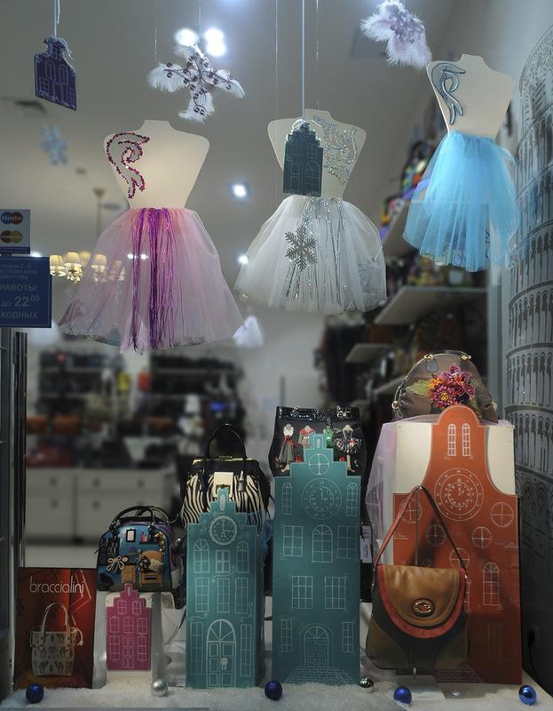 украшаем магазин к новому году фото