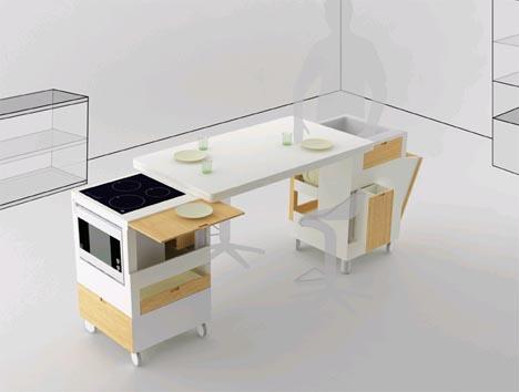 Rubika раздвижной обеденный стол