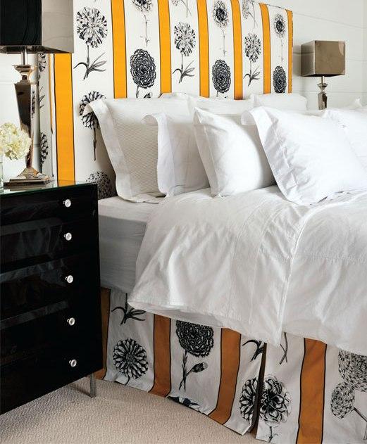 Кровати двуспальные с мягким изголовьем