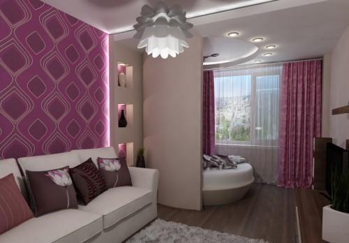 Дизайн квартиры 40 кв.м.