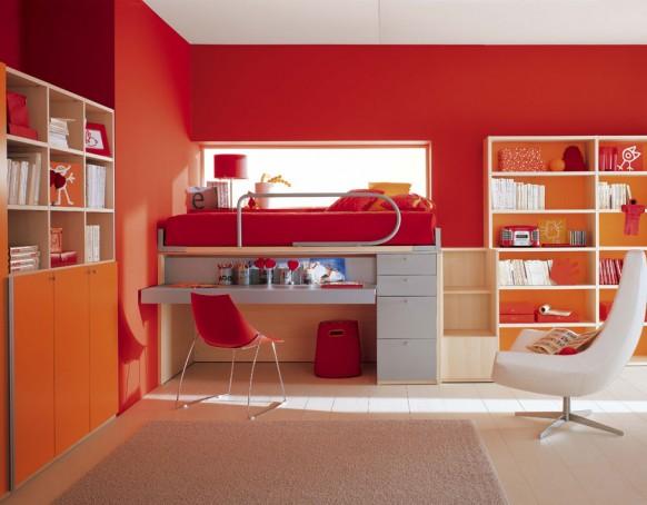 интерьер детских комнат от Berloni