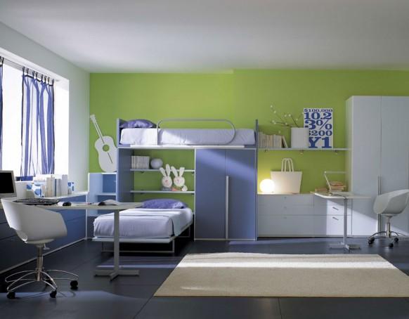 Интерьер этих комнат от шкафа до