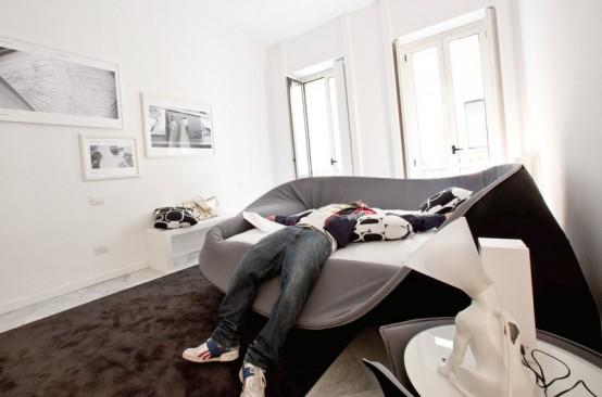 кровати в стиле модерн