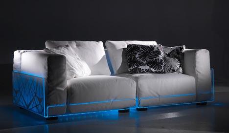 Креативный диван с led подсветкой, фото