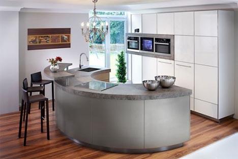 идеи кухни минимализм. фото