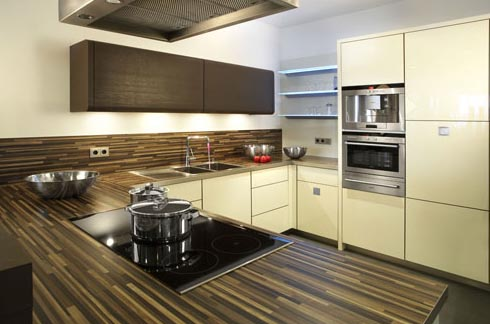 кухни минимализм, фото