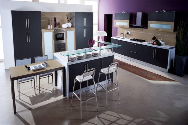 современная кухня, фото