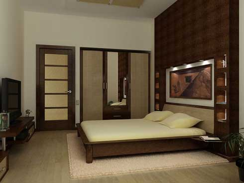 дизайн проект интерьера спальни
