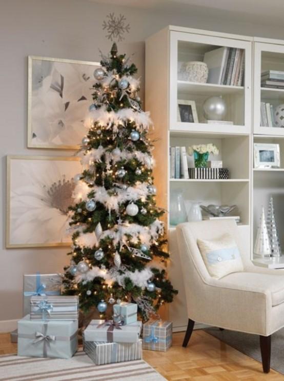 Оформление новогодней елки