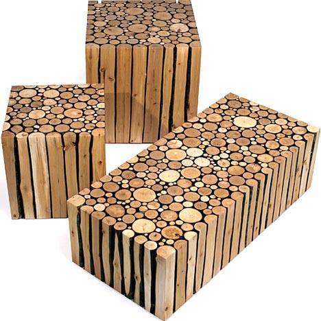 Оригинальная деревянная мебель ручной работы