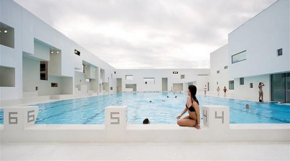 интерьер бассейна, фото