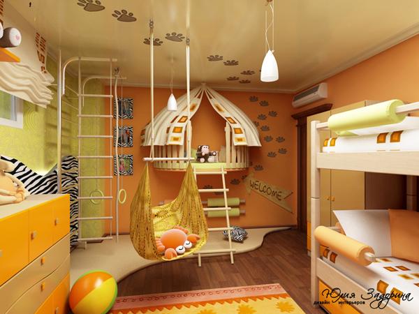 Дизайн комнаты для детей 10 лет