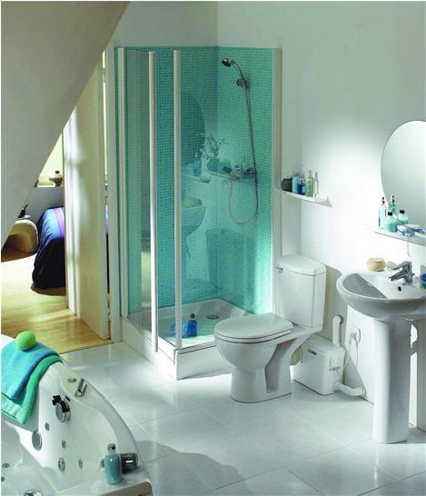 интерьер ванны и туалета фото