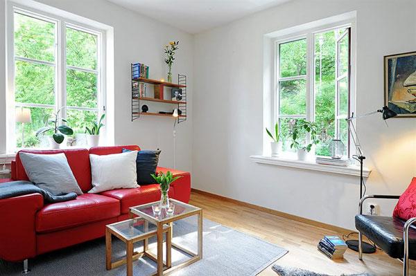 интерьер небольшой квартиры, фото