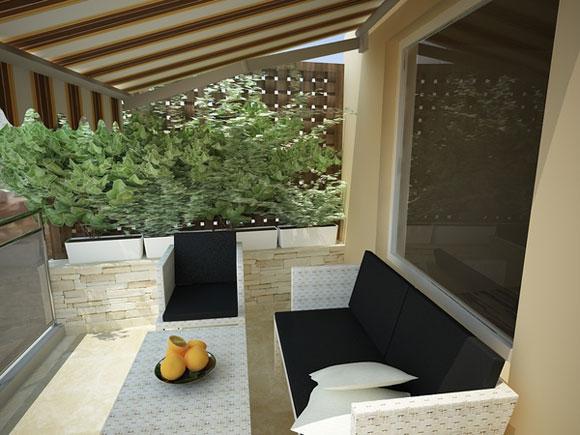 проект небольшого загородного дома, фото
