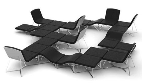 Модульный диван adaptible, фото