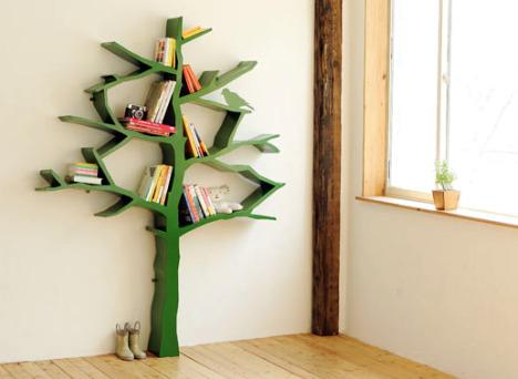Декоративная книжная полка Дерево Shawn Soh, фото
