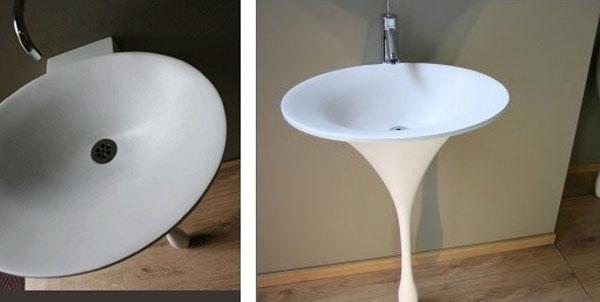 писсуары для ванной комнаты необычной формы, фото