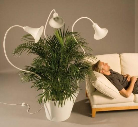 оригинальная напольная лампа