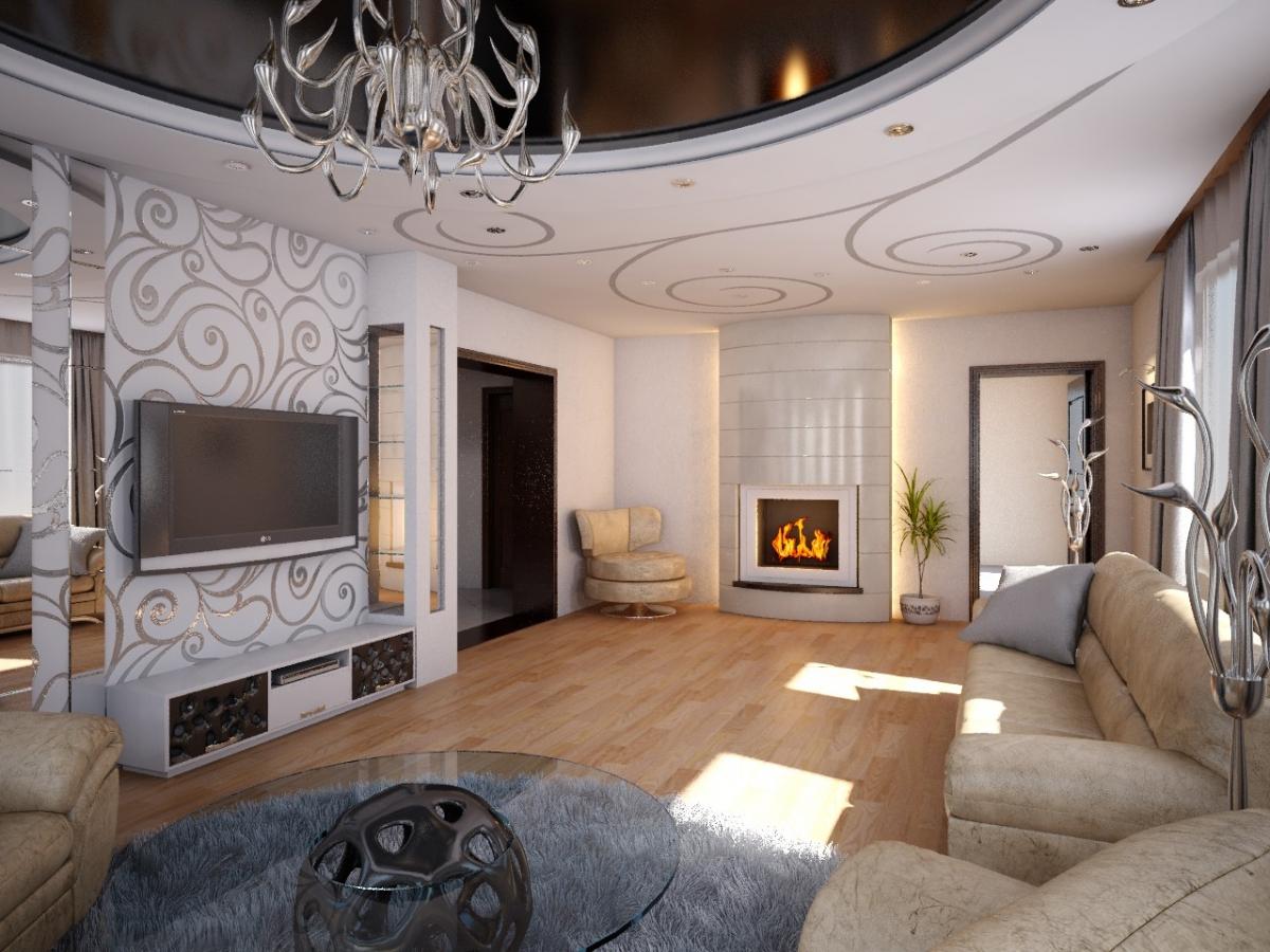 Стили интерьера гостиной стиль