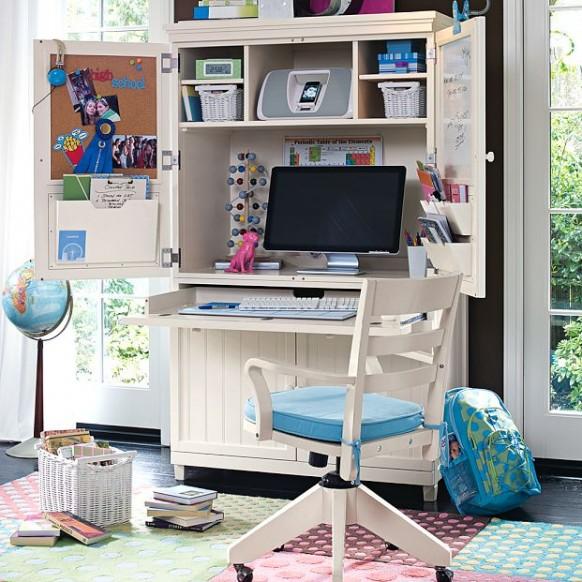 детский рабочий стол и стул