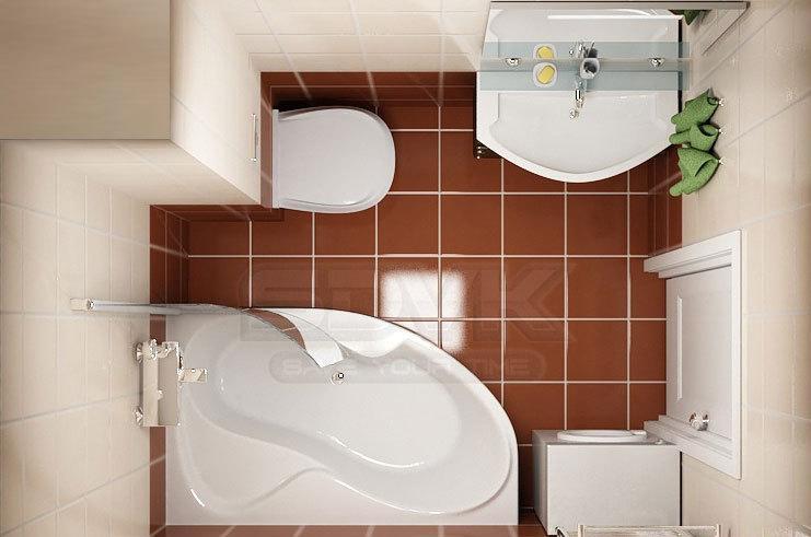 фото ванной комнаты малогабаритной дизайн