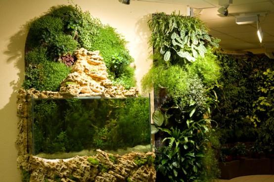 вертикальный сад, фото
