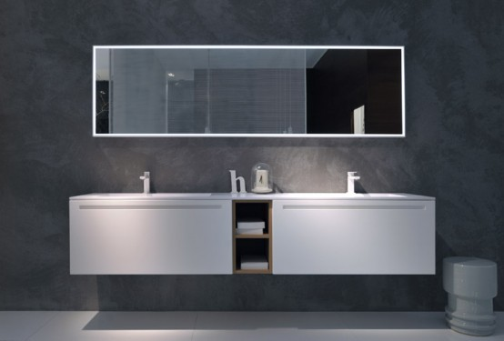свежая идея ванной комнаты, фото
