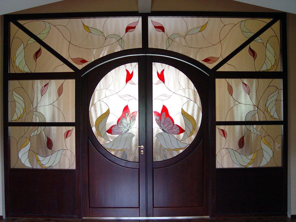 Вітражі  для дверей