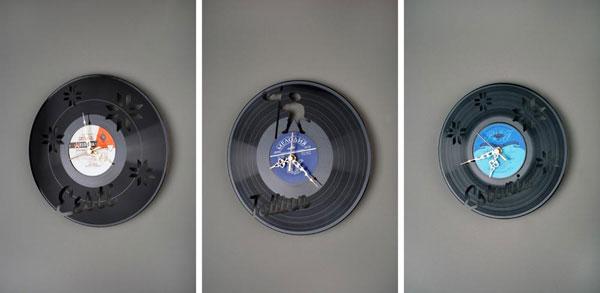 оригинальные настенные часы, фото