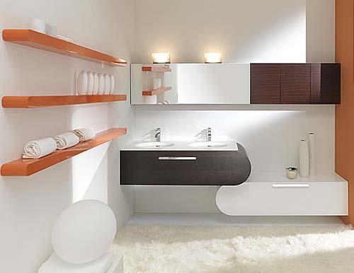 Мебель для ванной комнаты Lasa Idea  коллекция 2009 Flux